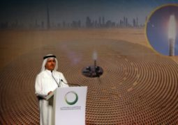 محطة الطاقة الشمسية دبي