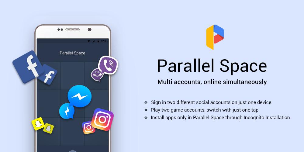 تشغيل حسابين واتس آب على الهاتف تطبيق : Parallel